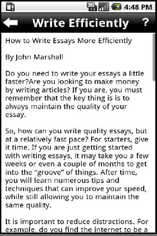 Make my essays