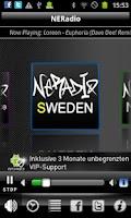 Screenshot of NERadio