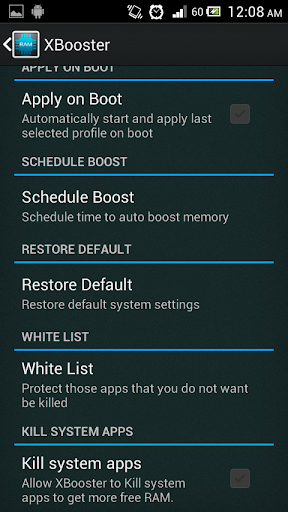XBooster *ROOT* - Free 5.1.2 screenshots 3