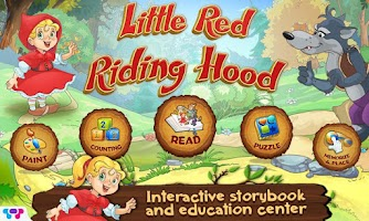 Screenshot of Little Red Riding Hood Book
