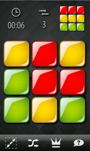 Swiping Squares
