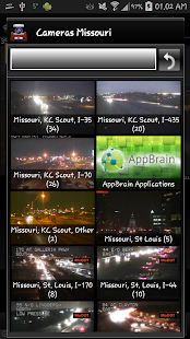 Cameras Missouri - Traffic - náhled