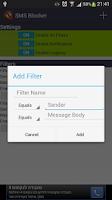 Screenshot of SMS Blocker