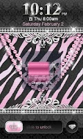 Screenshot of Luxury Theme Pink Zebra★Locker