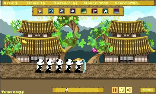 Panda Runner- screenshot thumbnail