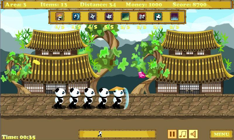 Panda Runner- screenshot