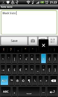 Black Slate - Keyboard Theme - screenshot thumbnail