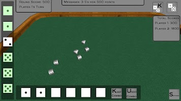 Screenshot of 3D Farkle