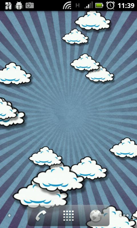 Little Clouds (Live Wallpaper) - screenshot