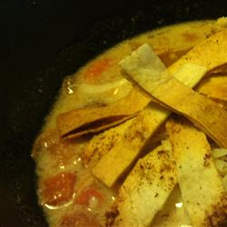 Jamaican Tortilla Soup