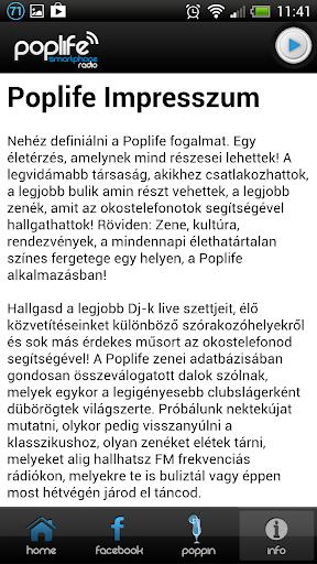 【免費音樂App】Poplife Smartphone Radio-APP點子