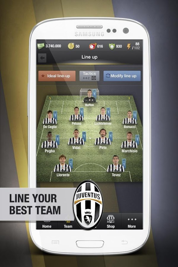 Juventus Fantasy Manager '14 - screenshot