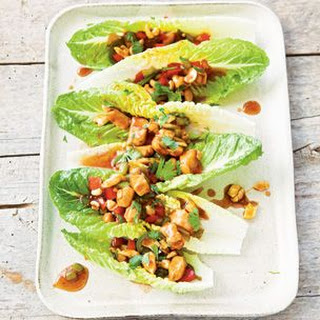 Cashew Chicken Lettuce Tacos