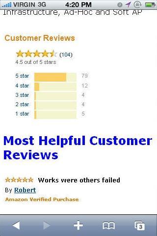 玩免費購物APP|下載Wireless N USB 300Mbps Reviews app不用錢|硬是要APP