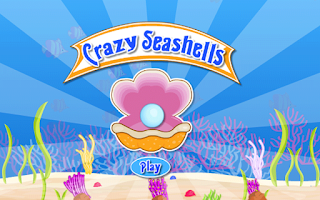 Screenshot of Kids Game-Crazy Seashells