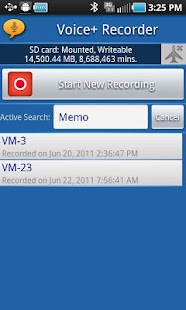 Voice+Recorder- screenshot thumbnail