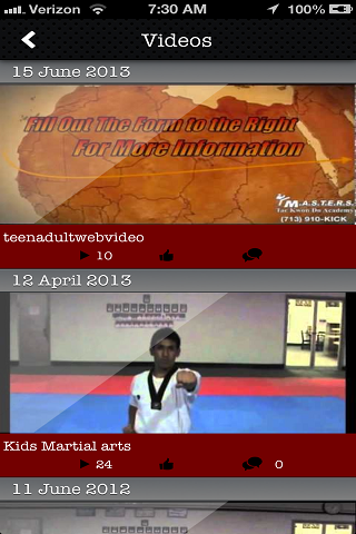 【免費健康App】Masters Tae Kwon Do Academy-APP點子
