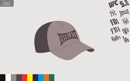 Caps designer constructor