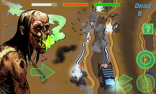 僵尸 赛车类小游戏 逃离殭屍之城3D