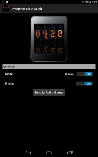 Nixie Watch for Android Wear screenshots 7
