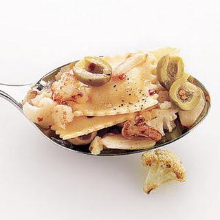 Ravioli With Spicy Cauliflower