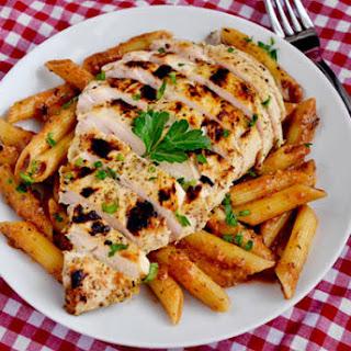Skinny Creamy Italian Chicken Skillet.