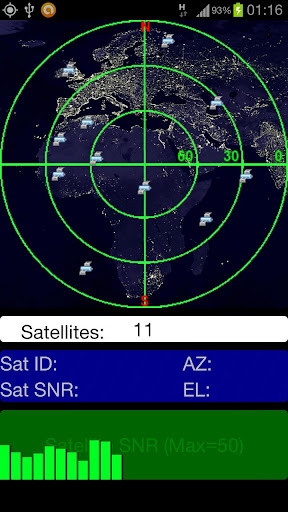 Display Satellite Information