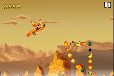 Flying Crazy Fox
