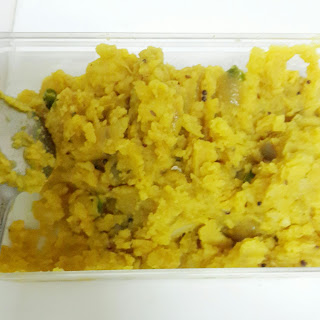 Aloo / Batata Bhaji or Potato vegetable.