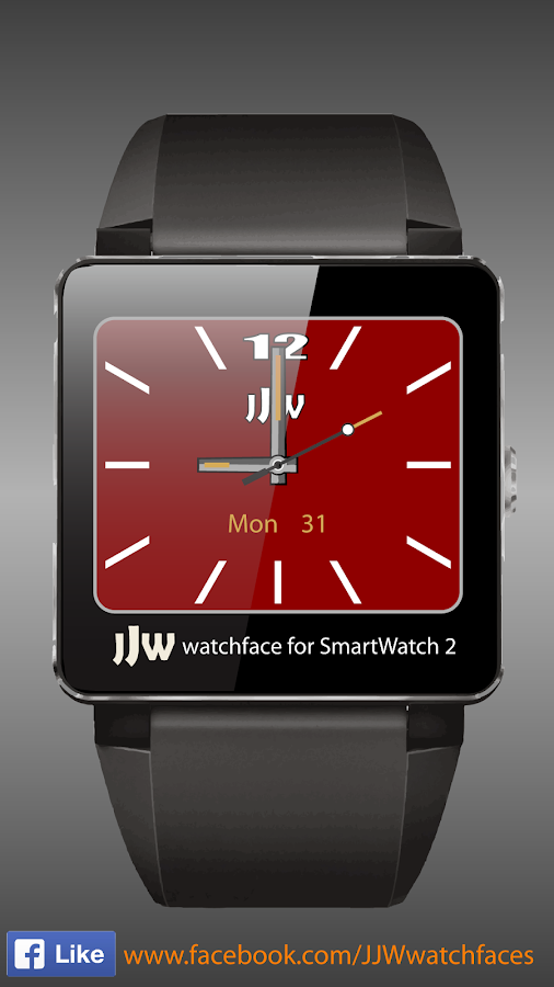 JJW Elegant II Watchface 1 SW2- screenshot