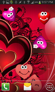 Beautiful Heart Live Wallpaper- screenshot thumbnail