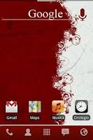 Screenshot of Red Honeycomb Keyboard Skin