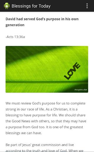 玩生活App Blessings for Today免費 APP試玩