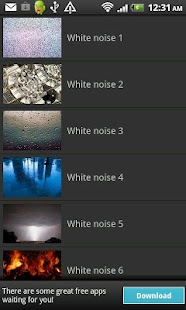 White Noise- screenshot thumbnail