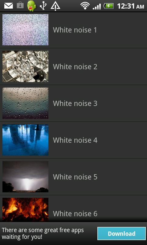 White Noise- screenshot