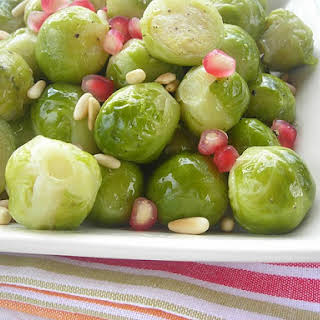 Pressure Cooker (or not) Red, White & Green Brussles Sprouts!.