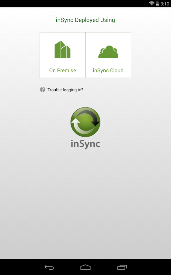 inSync Companion - screenshot