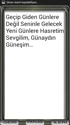 SEVGİLİYE GÜNAYDIN MESAJLARI - screenshot