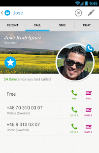 Rebtel: Cheap and Free Calls - screenshot thumbnail