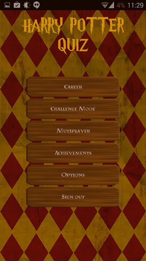 Harry Potter Book Knowledge Quiz : Fanquiz for harry potter android apps on google play