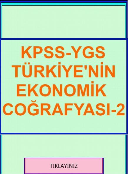 KPSS YGS COĞRAFYA TR. EK. CO-2- screenshot