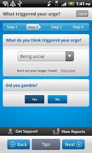 Monitor Your Gambling & Urges- screenshot thumbnail