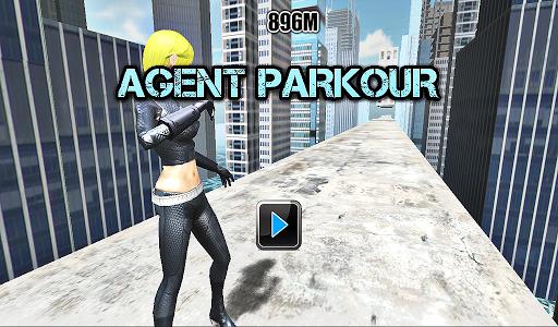 【免費動作App】Agent Parkour- Crazy Edge Dash-APP點子