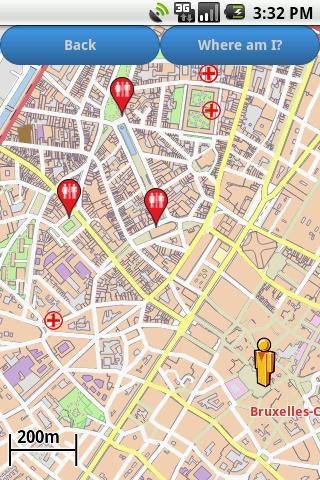 Brussels Amenities Map