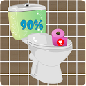 Toilet Battery Widget icon