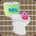 Toilet Battery Widget