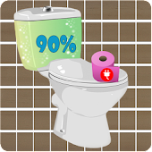 Toilet Battery Widget
