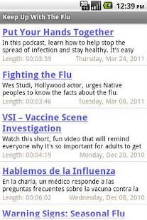 Keep Up With The Flu- screenshot thumbnail