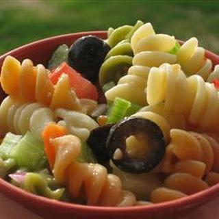 Easy Pasta Salad.