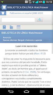 JW Podcast (español) Screenshot